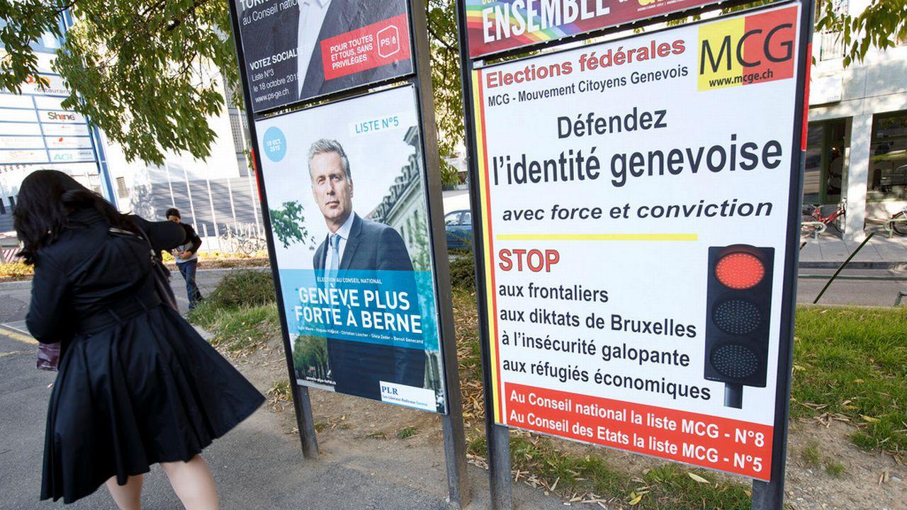 Les choix des Suisses n'ont guère évolué depuis les élections fédérales 2015. [Salvatore Di Nolfi - Keystone]