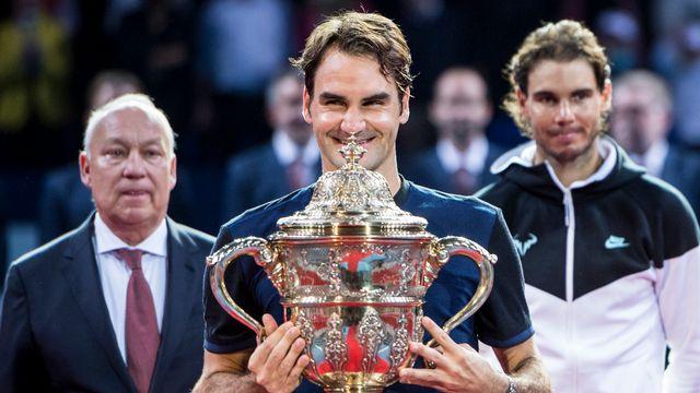 Federer sera le favori en l'absence de Nadal. [Dominic Steinmann - Keystone]