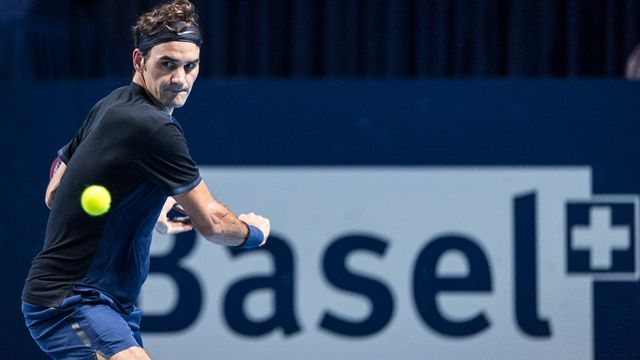 """Roger Federer en 2015 lors de son tournoi fétiche """"à domicile"""". [Dominic Steinmann - Keystone]"""