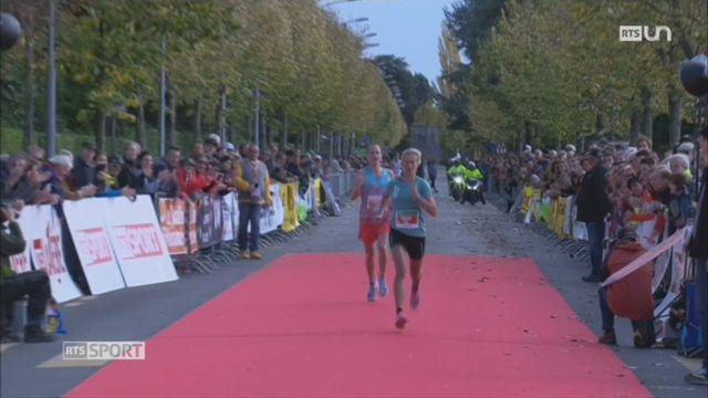 Course: Laura Hrebec remporte le marathon de Lausanne [RTS]