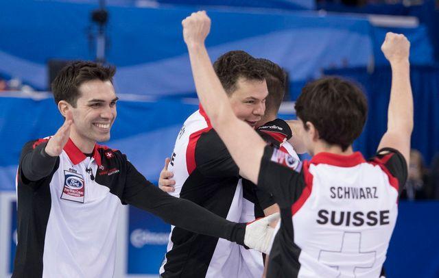Peter de Cruz avaient remporté le bronze en avril dernier lors des Mondiaux. [Jonathan Hayward - Keystone]