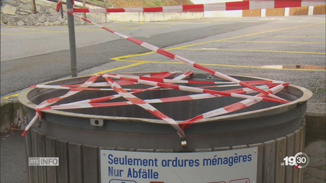 Haute-Nendaz: un cadavre a été retrouvé dans une benne à ordures [RTS]