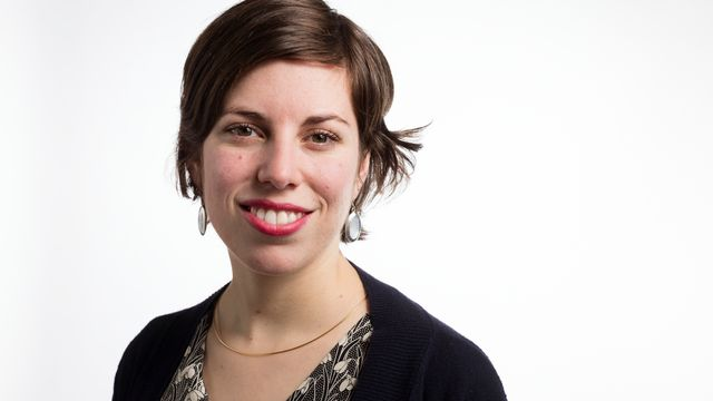 La conseillère nationale Lisa Mazzone (Verts/GE) [Gaëtan Bally - Keystone]
