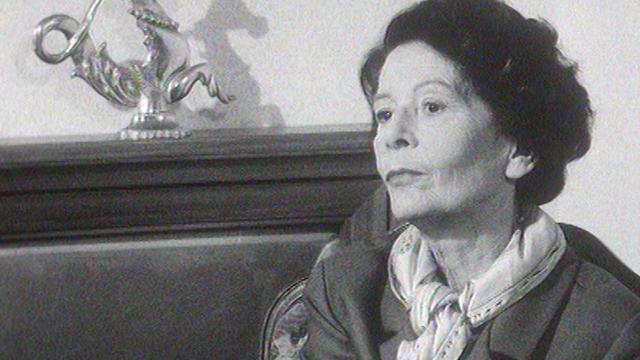 Catherine Collomb en 1961. [RTS]