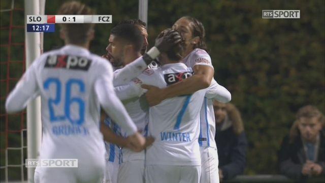 8e, Stade Lausanne - FC Zurich (0-1): 13e,  A. Nef [RTS]