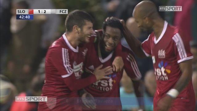 8e, Stade Lausanne - FC Zurich (1-2): 42e, B. Bavueza [RTS]
