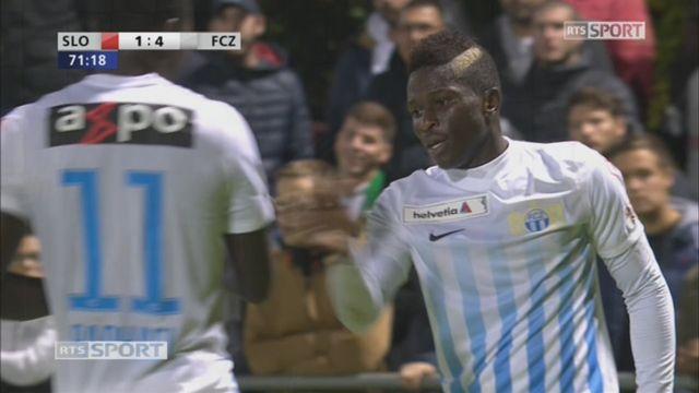 8e, Stade Lausanne - FC Zurich (1-4): 71e, M. Kone [RTS]