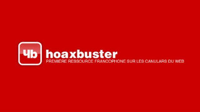 Hoaxbuster, un site qui répertorie les canulars [HB - © hoaxbuster.com]