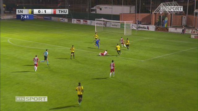 8e, Stade Nyonnais – FC Thoune (0-2): 8e, N. Ferreira [RTS]