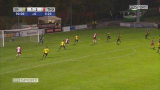 8e, Stade Nyonnais – FC Thoune (1-3): 91e, M. Facchinetti [RTS]