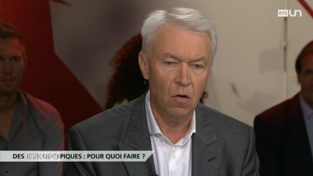 Infrarouge - réaction de Bernard Rueger [RTS]
