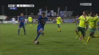 Coupe de Suisse, 8es de finale: Echallens - Lucerne 0-1, Demhasaj 20e [RTS]
