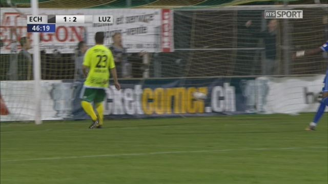 Coupe de Suisse, 8es de finale: Echallens - Lucerne 1-2, Ugrinic 47e [RTS]