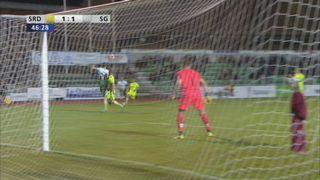 Coupe de Suisse, 8es de finale: Delémont - Saint-Gall 1-1, Barnetta 46e [RTS]