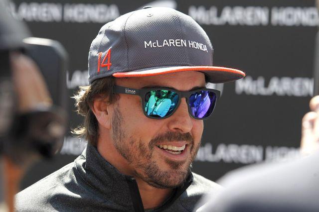 """Alonso: """"Mon objectif est d'être un pilote éclectique et cette expérience m'aidera"""" [Ulises Ruiz Basurto - Keystone]"""