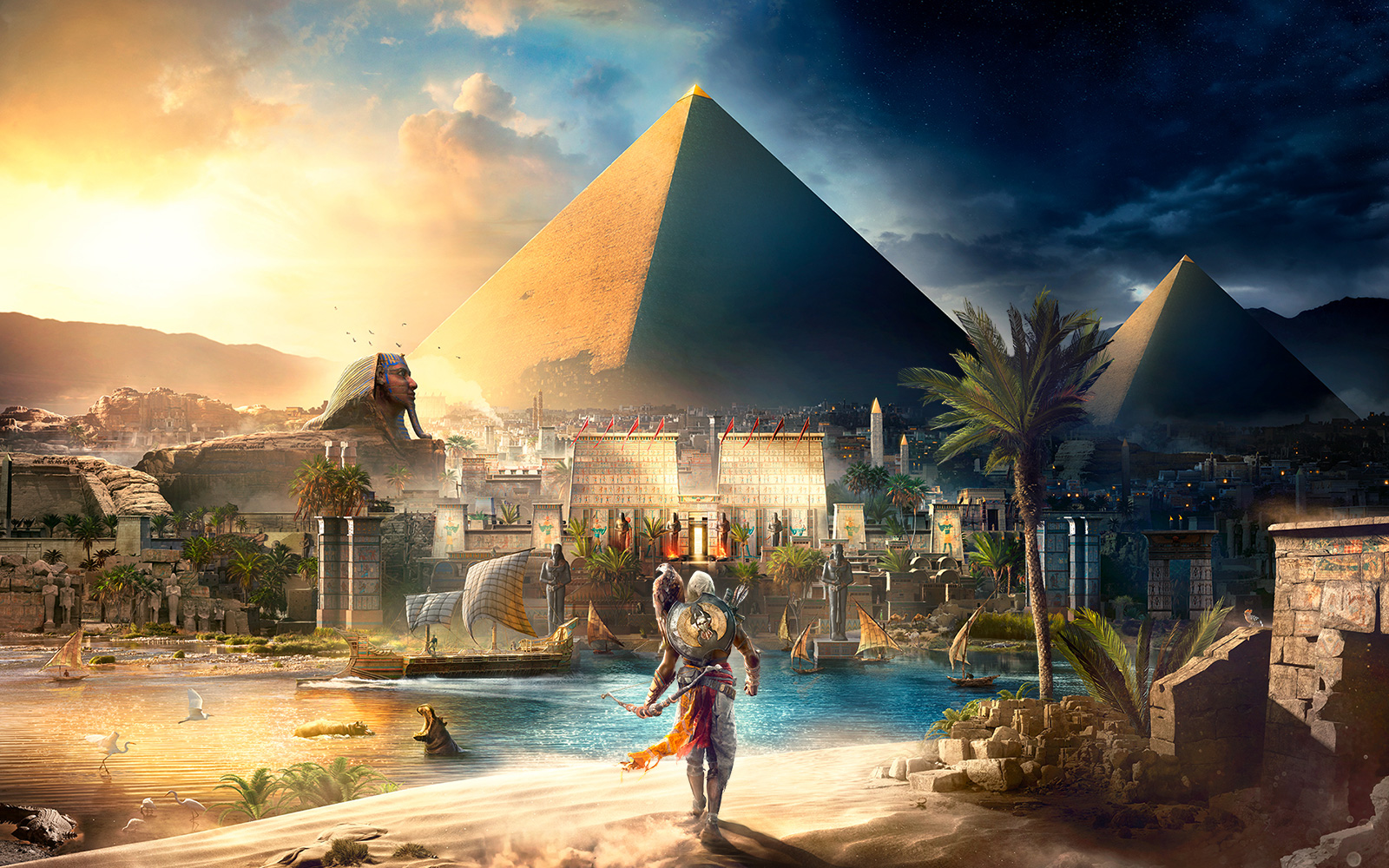 "Visuel de ""Assassin's Creed Origins""."