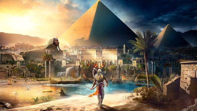 """Visuel de """"Assassin's Creed Origins"""". [Ubisoft]"""