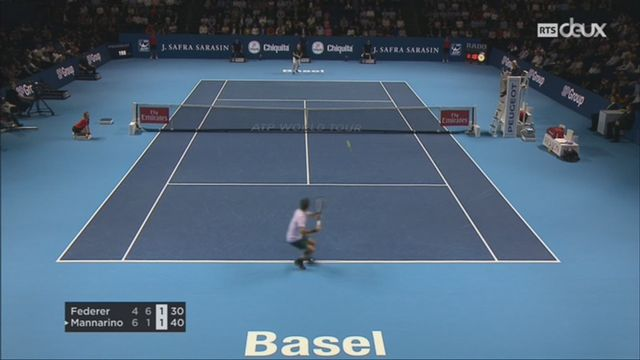 Tennis-ATP de Bâle: Federer se qualifie pour les demi-finales [RTS]