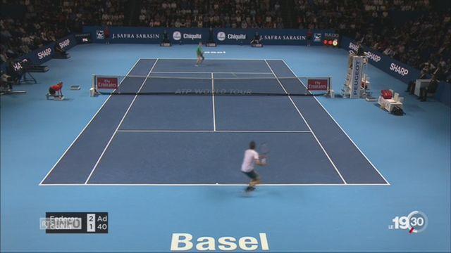 Swiss Indoors: Federer se qualifie aisément pour la finale [RTS]