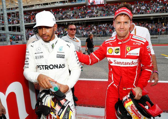Hamilton et Vettel sont les favoris du GP du Mexique. [Hoch Zwei - EQ]