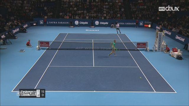 Tennis-Swiss Indoors: Federer se qualifie facilement en finale [RTS]