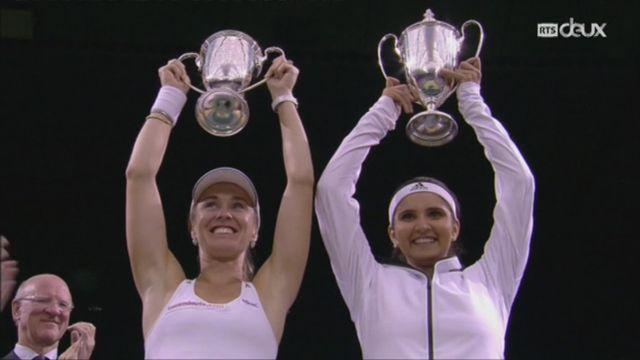 Tennis: Martina Hingis quitte le tennis définitivement [RTS]