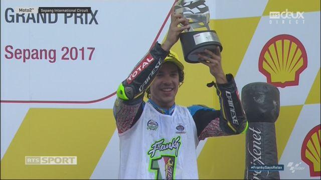 Moto 2, GP de Malaisie: l'Italien savoure son titre mondial avec sa 3e place [RTS]