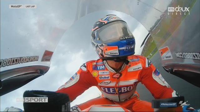 Moto GP, GP de Malaisie: Dovizioso (ITA) remporte la course devant Lorenzo (ESP) 2e et Zarco (FRA) 3e [RTS]