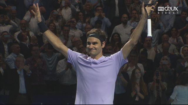 Bâle, finale : R. Federer (SUI) - Del Potro (ARG) (6-7, 6-4, 6-3) [RTS]