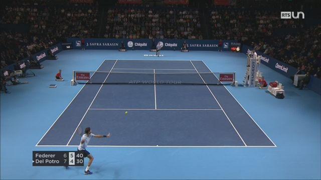 Tennis - Swiss Indoors: Federer remporte le tournoi face à Del Potro [RTS]