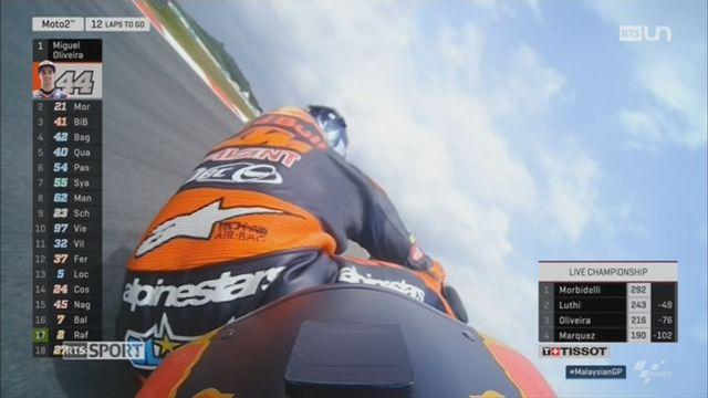 Moto 2 - GP Malaisie: Morbidelli remporte la course [RTS]