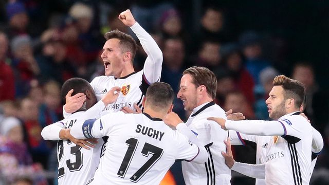Bâle espère remporter son 3e match de la saison en Ligue des champions, mardi. [Ivan Sekretarev - Keystone]