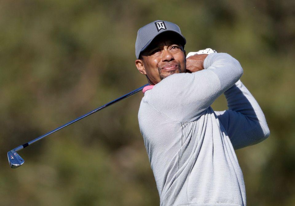 Woods se réjouit de revenir à la compétition. [Gregory Bull - Keystone]