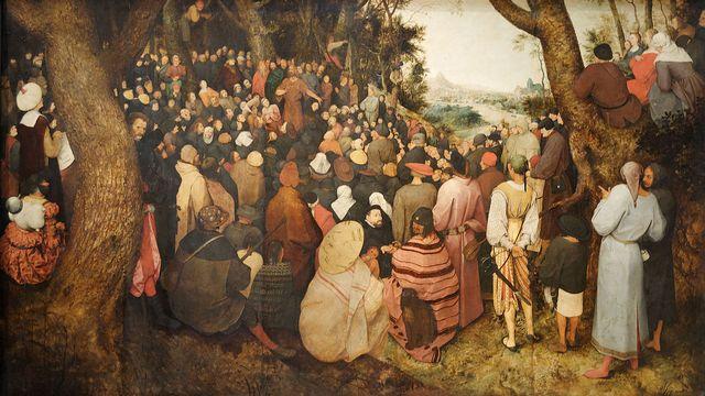 La Prédication de Saint Jean-Baptiste, Brueghel l'Ancien