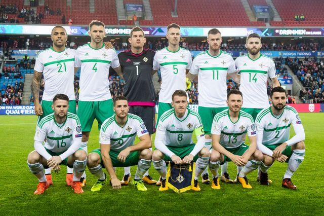 L'Irlande du Nord espère disputer une quatrième Coupe du monde, la première depuis 1986. [Audun Braastad - Keystone]