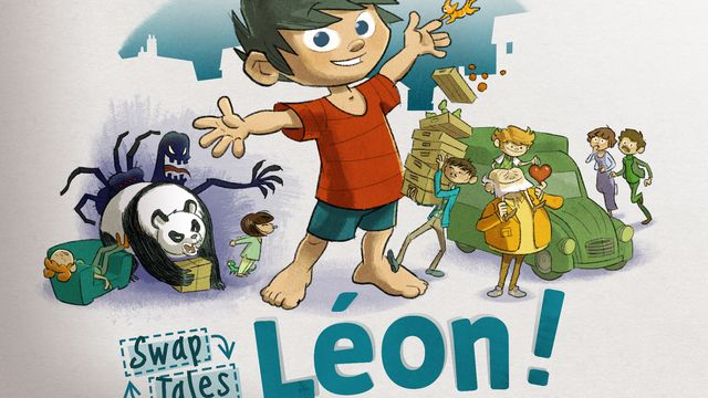 SwapTAles: Léon!, un jeu d'aventure et de réflexion. [Witty Wings - Plug In Digital Label]