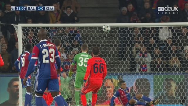 Ligue des Champions, Gr. A, FC Bâle - CSKA Moscou (1-0): Zuffi 32e [RTS]