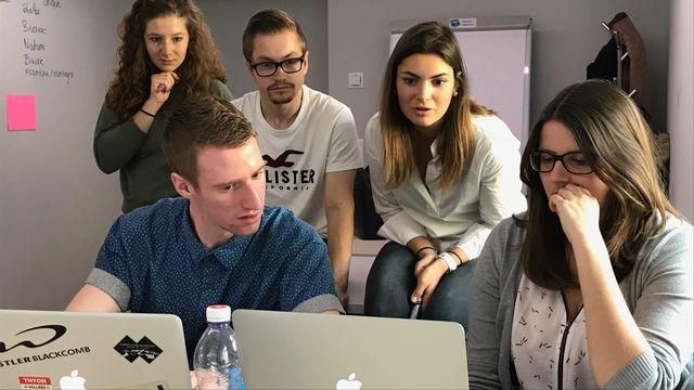 La HES-SO Valais propose un programme autour de la création d'entreprise [Yves Terrani - RTS]