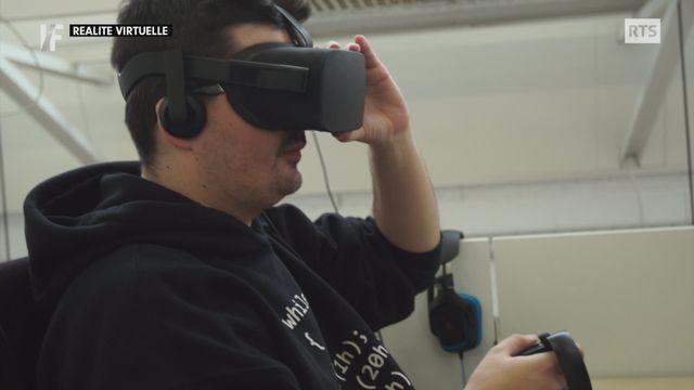 Décryptage - la réalité virtuelle, cette technique immersive qui permet de se mouvoir dans un monde imaginaire [RTS]