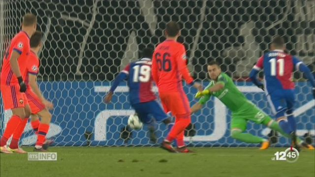 Football-Ligue des Champions: Bâle s'est inclinée face au CSKA Moscou (1-2) [RTS]