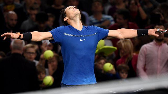 Rafael Nadal est assuré de terminer à la place de No 1 mondial à la fin de l'année. [Christophe Petit Tesson - Keystone]