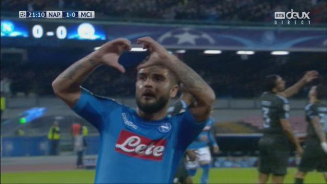 Ligue des Champions, Gr.F, Naples – Manchester City (1-0): 21e Insigne [RTS]