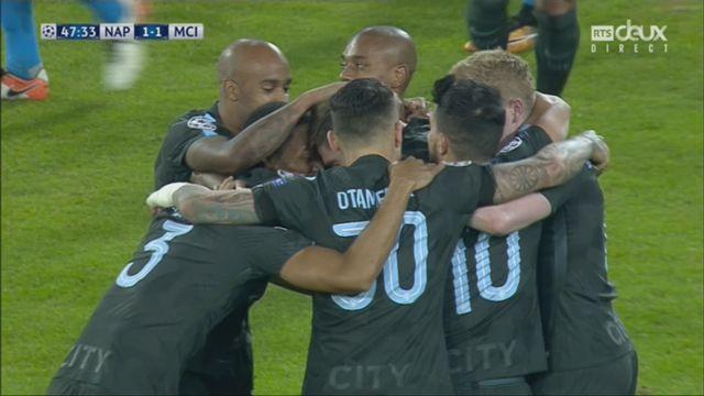 Ligue des Champions, Gr.F, Naples – Manchester City (1-2): 48e Stones [RTS]