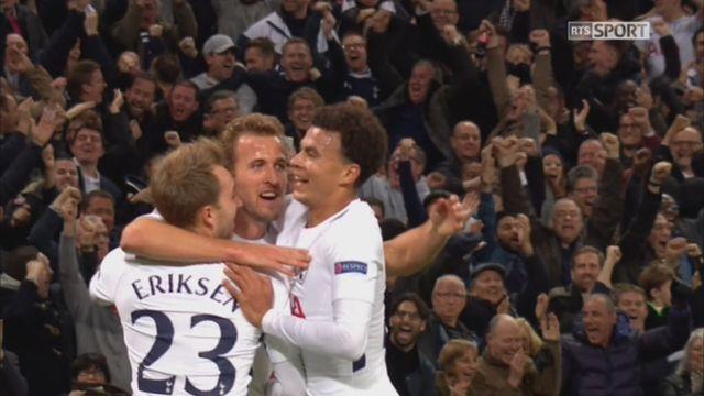Ligue des Champions, Gr.H, Tottenham – Real Madrid (3-0): 65e Eriksen [RTS]