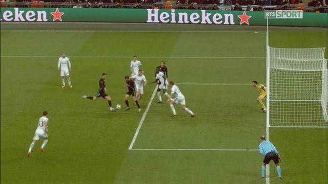 Ligue des Champions, Gr.F, Naples – Manchester City (2-3): 70e Agüero [RTS]