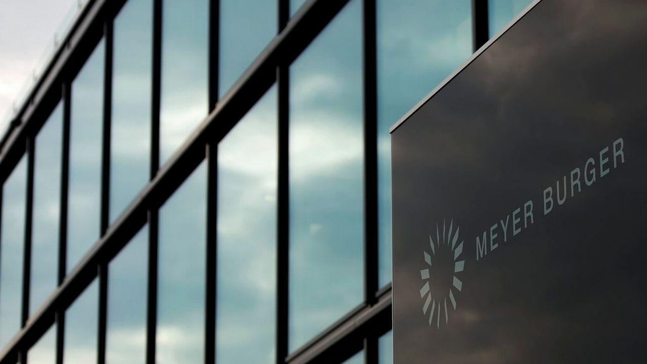 Meyer Burger est une entreprise bernoise spécialiste des systèmes et installations pour l'industrie photovoltaïque. [Peter Schneider - Keystone]