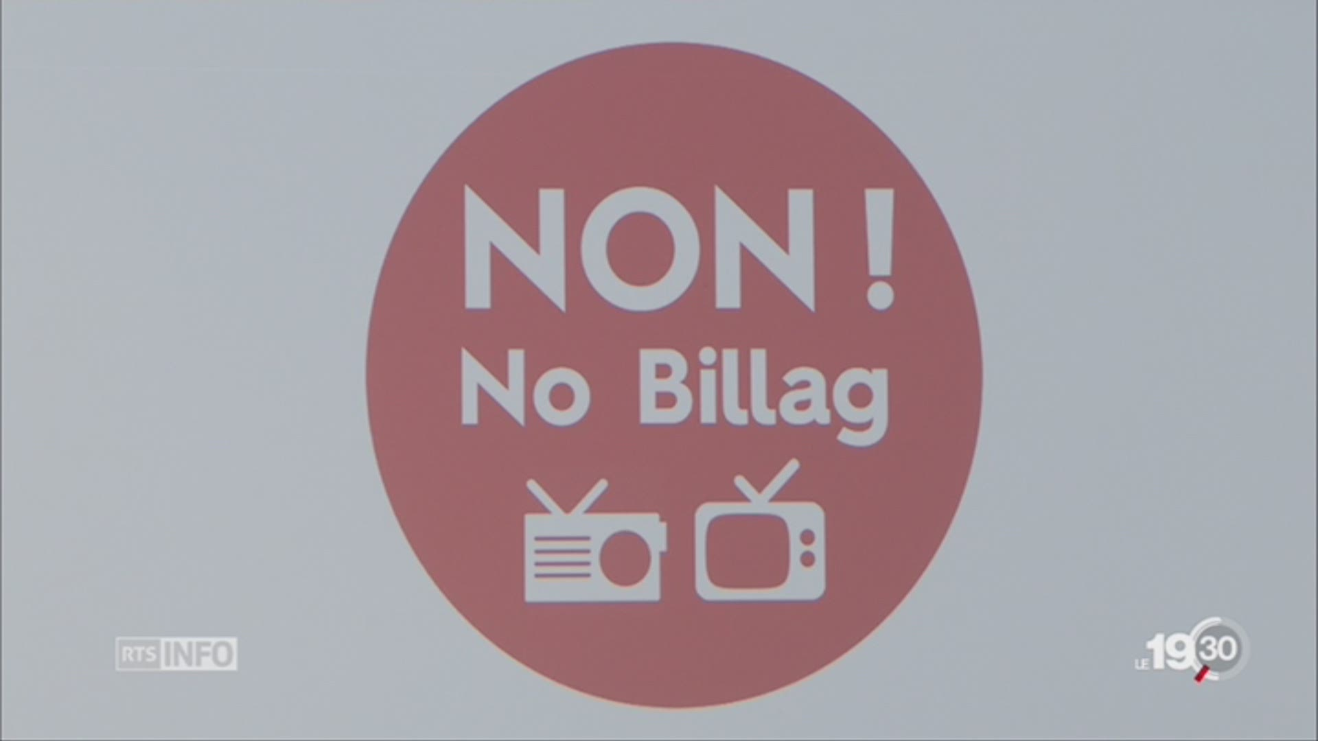 """No Billag"": les opposants entrent en campagne"