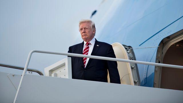 Donald Trump s'apprête à effectuer son premier voyage en Asie en tant que président. [Brendan Smialowski - AFP]