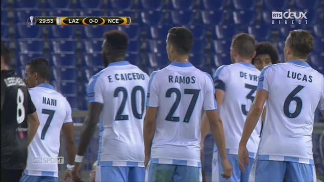 Ligue Europa, Gr. K, Lazio - Nice (1-0): le résumé du match [RTS]