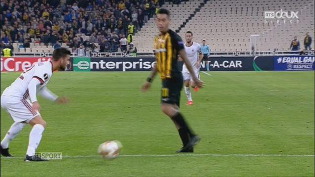 Ligue Europa, Gr. D, AEK Athènes - AC Milan (0-0): le résumé du match [RTS]